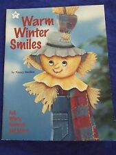"TOLE PAINTING PATTERN BOOK""WARM WINTER SMILES""CHRISTMAS/NAUTICAL DESIGNS"