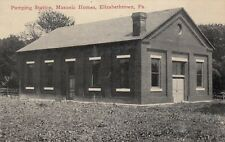Elizabethtown, Pennsylvania , 00-10s; Pumping Station, Masonic Home