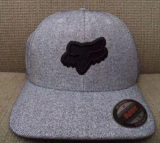 FOX TOIL FLEXFIT L/XL CAP HAT HEATHER GREY *NEW*