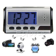 Alarm Clock Spy Camera Micro Hidden Nanny Cam Motion Detection Mini DV DVR Video