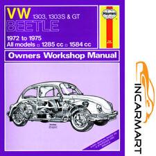 Workshop Manuals 1972 Car Service & Repair Manuals