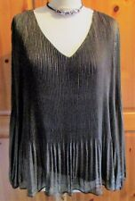 PHASE EIGHT LOVELY FULLY LINED SHIMMER TOP SIZE 16