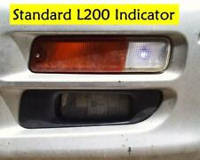 Orange front  bumper Side+Indicator light for Mitsubishi L200 lamp flasher lens