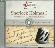 SHERLOCK HOLMES 3 THE MIND'S EYE & A SCANDAL IN BOHEMIA - ORIGINAL RECORDINGS CD