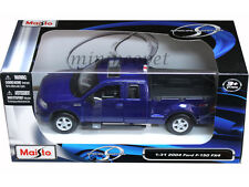MAISTO 31248 2004 04 FORD F-150 FX4 PICK UP TRUCK 1/31 DIECAST BLUE