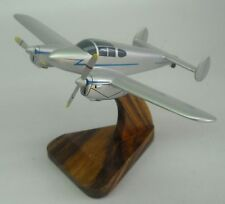 M-65 Gemini Miles Airplane Desktop Wood Model Big New