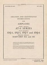 NORTH AMERICAN AT-6 / SNJ / TEXAN / HARVARD E&M / 1944