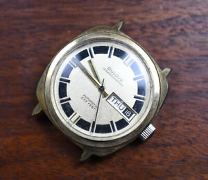 Vintage BULOVA OCEANOGRAPHER 333 Automatic Watch RUNNING AS IS  Cal. 11ANACB