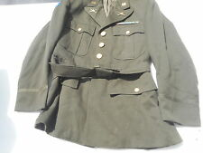 WW2 Army Pacific Major Officers Tunic Armor Div. Size 38 Named to J.D. BrennAn