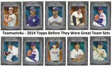 Carte collezionabili baseball stagione 2014