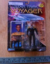 LIEUTENANT TUVOK Star Trek Voyager PLAYMATES MOC SEALED ACTION FIGURE