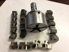 """NATIONAL ACME DR1F VERSO TOOL DIE HEAD, SHANK 1-1/4"""",w/ 4 SETS OF  CHASERS"""