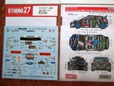 DECAL: 1/24 S271105 2014 MONSTER/HOONIGAN FORD FIESTA WRC MONZA BLOCK