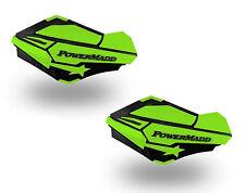 PowerMadd Sentinel Replacement ATV Handguards Hand Guards Black Green 34423