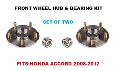 Front Wheel Hub And Bearing Kit Assembly for Honda Accord 2008-2012 PAIR TWO