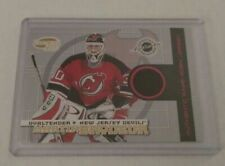 MARTIN BRODEUR - 2004 PACIFIC INVINCIBLE - GAME USED JERSEY - #7/500 - DEVILS -