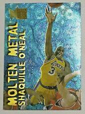 1996-97 Fleer Metal Molten Metal Shaquille O'neal #22 Los Angeles Lakers