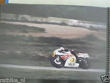 S1323-BARRY SHEENE YAMAHA 500 CC ASSEN 1981 NO 7 PHOTO COLOR MOTO GP AKAI