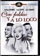 Billy Wilder: CON FALDAS Y A LO LOCO. Tarifa plana envío dvd España 5 €