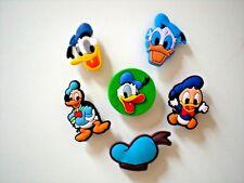 Garden Clog Shoe Plug Button Charm Fits Jibbitz WristBand Accessory Donald Duck