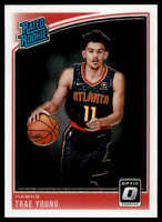 Trae Young 2018-19 Donruss Optic #198 RC Hawks Rated Rookie
