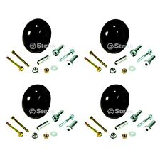 4 Deck Wheel Kits For AM133602 AM116299 M111489 717 727 737 757 777 797 997 M653
