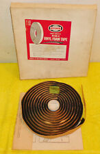 1966-73 Ford Mustang Shelby Fairlane Mercury Cougar Lincoln NOS VINYL FOAM TAPE