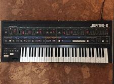 Roland Jupiter 6 synthesizer with high-end Gator flight case + Europa mod