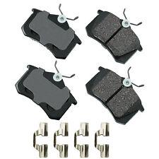 Disc Brake Pad Set-GAS, Natural, Wagon Rear Akebono EUR340B