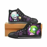 Invader Zim Gir Men's Classic High Top Canvas Shoes
