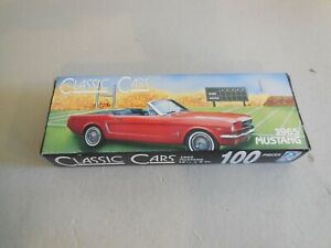 Ford Mustang 1965 100 Piece Puzzle