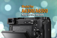 CineasyTouch Blk Video Rec Button Enhancement for Sony A6000/A6300/A6500 Ca