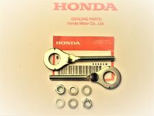 HONDA C70 PASSPORT SUPER CUB 1970 - 1984 OEM CHAIN ADJUSTERS + WASHERS AND NUTS
