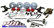POL 63-64 Chevy C10 5-Lug Front & Rear Power Disc Brake Conversion w/ Rear Axles