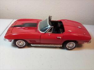 ERTL 1967 Chevrolet Corvette Convertable 1/18 Scale Die Cast Model