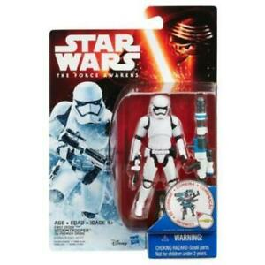 NEW HASBRO STAR WARS THE FORCE AWAKENS 3.75 INCH FIGURE SNOW STORMTROOPER B3964