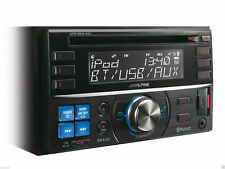 Alpine CDE-W235BT Double Din With Advanced Built In Bluetooth