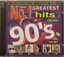 The Greatest No.1 Hits Of The 90's CD - RARE Various Artist 90s