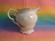 Wawel Royal Vienna Collection Embossed Replacement Creamer w/ Purple Flowers