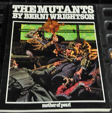 THE MUTANTS BY BERNI WRIGHTSON GRAPHIC NOVEL 1980 1ST PRINT F-VF
