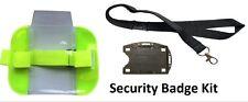 Sia Security Hi Visability Armband Kit - Includes Lanyard & Double Badge Holder