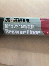 US General 18 in x 72 in Nonslip Toolbox Solid Liner