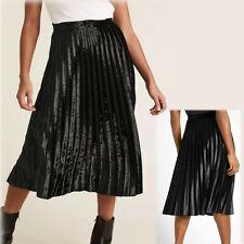 Grey Multi Fully Elasticated Knee Length Skirt BNWT M/&S Ladies Size 22