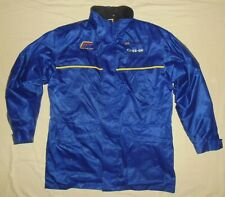David Sutton World Rally Team / vintage MENS blue zip-up Storm Top / Jacket. L