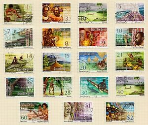 Papua New Guinea fine used 1973-1974 Folk Culture issue