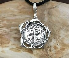 ATOCHA Coin Pendant Multi Dolphin 925 Sterling Sunken Treasure
