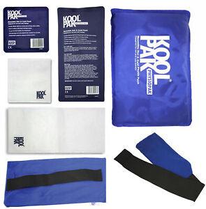 KoolPak Luxury Reusable Hot Cold Ice Gel Pack | All Sizes |Optional Sleeves| ...