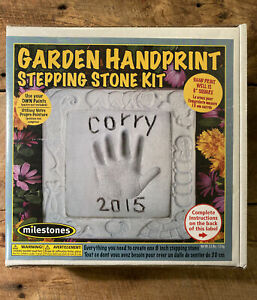 Midwest Products Kids Garden Handprint Stepping Stone Kit - New In Box