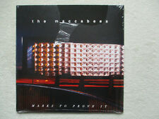"LP 33T THE MACCABEES ""Marks to prove it"" FICTION RECORDS MACC045 EUROPE Neuf §"