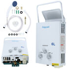 6L LPG 1.6 GPM Propane Gas Tankless Outdoor/Home Instant Hot Water Heater Boiler
